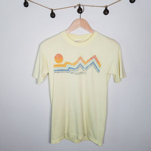 Vintage Single Stitch Ski Colorado Graphic T M